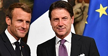 French, Italian leaders meet in Rome