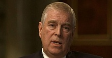Prince Andrew seen for first time since stepping back from royal duties