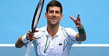 Djokovic into third round in Australian Open