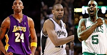 Kobe, Duncan, and Garnett elected to Hall of Fame 2020