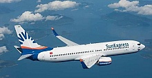 Sunexpress Ankara to London Stansted direct flight on Wednesday 3 June