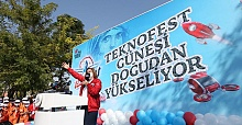 GAZİANTEP HAS BECOME ONE WITH TEKNOFEST THANKS TO ITS ENERGY, THRILL AND EXCITEMENT