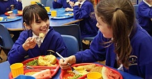 Where are free school meals most needed?