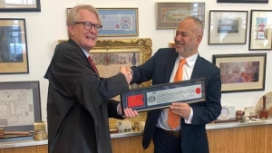 Enver Kannur awarded The Freedom of the City of London