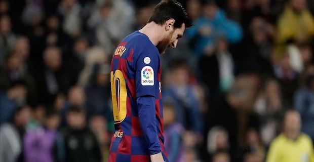Messi out of Barcelona's pre-season training