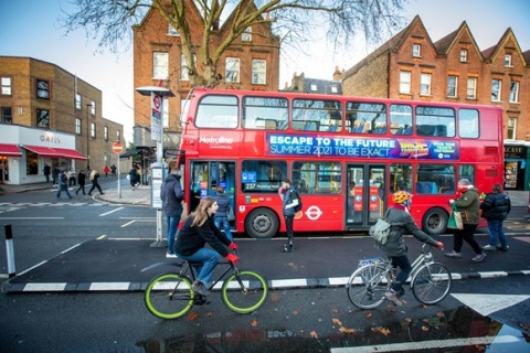 New cycle count data suggests that cycling increased in both inner and outer London
