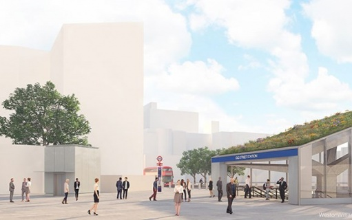 Transformation of Old Street roundabout moves to next stage as road changes to final layout