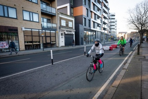 New extensions to Cycleway 4 route set to enable safer essential cycle journeys during pandemic