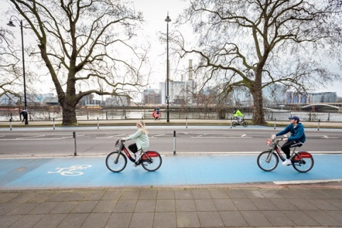 Free Santander Cycles codes given to NHS staff and key workers redeemed more than 100,000 times