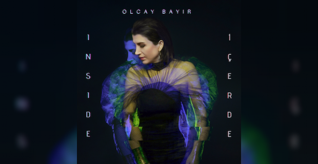 The four songs on the E.P. 'Inside' paint an emotion-portrait of Olcay's inner life during the pandemic