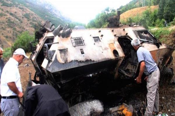 16 Turkish soldiers killed in Daglica attack