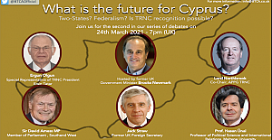 Jack Straw will be appearing in their next panel discussion on the Future for Cyprus?