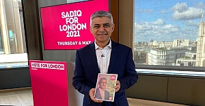Khan says he will help London's recovery, young people's job prospects and keep improving city's air quality