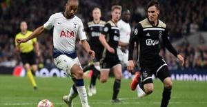 Football,  Ajax beat Tottenham in Champions League match