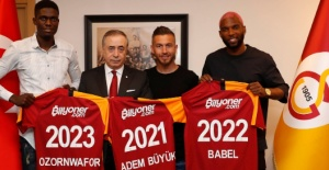 Galatasaray announce 3 new transfers