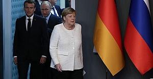 Putin, Merkel, Macron hold trilateral consultations